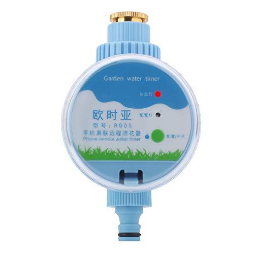 Jeffergrill Elektronische Wi-Fi-Fernbedienung Automatischer Gartenbewässerungs-Timer Intelligente Blumenbewässerung (Sand Timer Dusche)