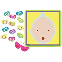 BABY SHOWER PARTY PIN THE DUMMY ON THE BABY GAME by Baby Shower Centre - Game Party Pin