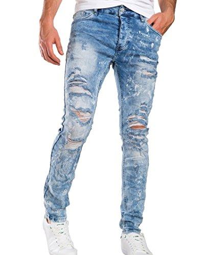 Red Bridge Homme Jeans / Jeans Straight Fit Storm Bleu