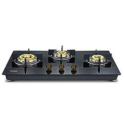 Prestige Gold Hobtop 3 Burner PHTG - 03