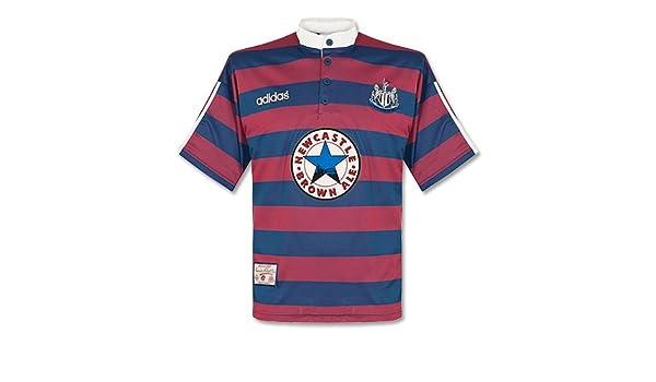 more photos d2afb 6b04c adidas 95-96 Newcastle United Away Shirt - Used - XL: Amazon ...