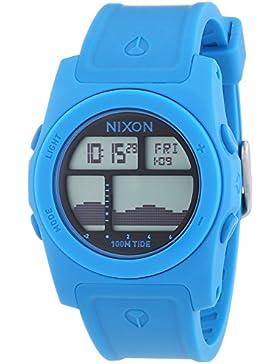 Nixon Damen-Armbanduhr Rhythm Sky Blue Digital Quarz Plastik A385917-00