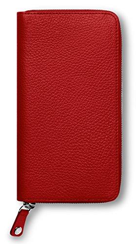 "Preisvergleich Produktbild Portemonnaie Damen ""Leman"", Rot"