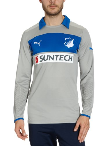 PUMA Herren Trikot Hoffenheim GK Shirt Promo, limestone gray-team power, M, 742719 02