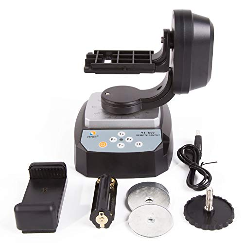 PROtastic yt-500Fernbedienung Motorisierte Pan Tilt für Action Kameras, WLAN Kameras und Smartphones (GoPro, Xiaomi, SJCAM Etc.) Tilt Smartphone