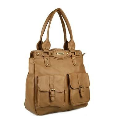 Peperone Handbag (Brown)