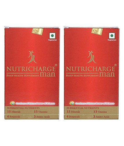 Nutricharge Daily Health Suppliment For Men (Pack Of 2)