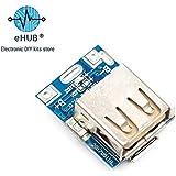 eHUB Ultra Small 5V Micro USB DIY Powerbank Charging Module Circuit Board Step Up with LED Indicator
