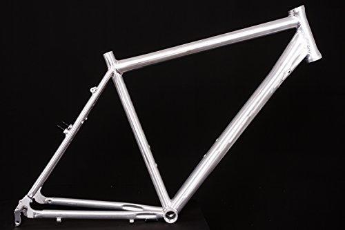 "28\"" Zoll Alu Fahrrad Rahmen Herren Trekking City Bike Ketten Schaltung Rh 55cm roh A-Head 1 1/8"