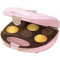 Bestron DCM8162 Appareil à Cupcake Compact 750 W Rose Clair