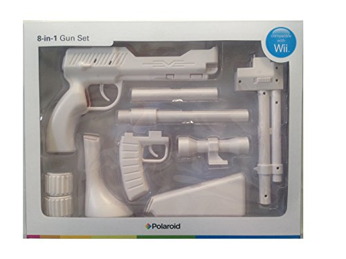 Preisvergleich Produktbild Nintendo Wii - 8 -in- 1 Gun Controller [UK Import]