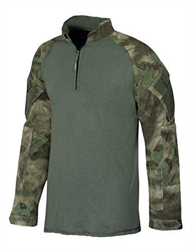 Tru-Spec Combat Shirt 1/4 Zip A-TACS FG, XL, A-TACS FG