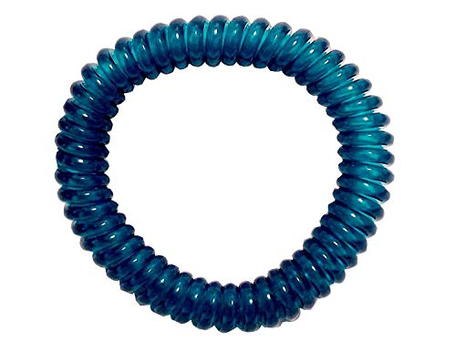 Springz Chewable Bracelet Fiddle Bracelet Clear Teal