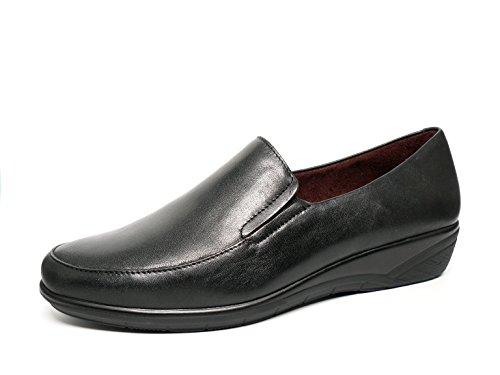 Damen Schuhe Mokassin Pitillos–Schwarz–1800–10 Schwarz
