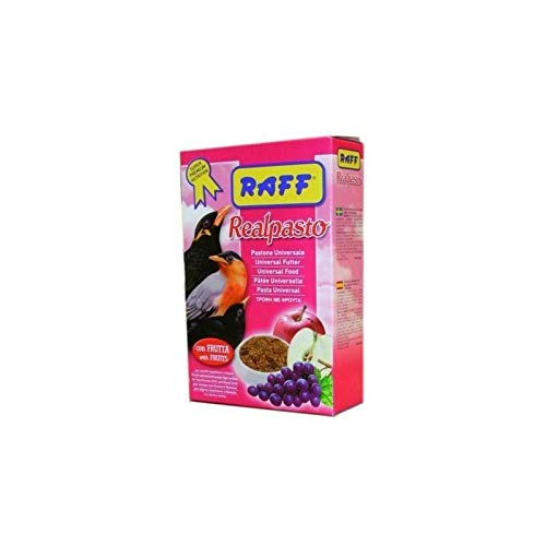 Raff alimento para aves insectívoras real pasto. 1,5kg