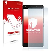 upscreen Scratch Shield Protector Pantalla BQ Aquaris M5.5 Película – Transparente, Anti-Huellas