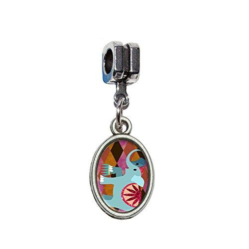 nt Italienisches europäischen Euro-Stil Armband Charm Bead–für Pandora, Biagi, Troll,, Chamilla,, andere (Big Top Circus Kostüm)