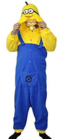 Costumes Minion Enfants Halloween - Gillbro Anime Adulte Animal Cosplay Costume Pyjamas,