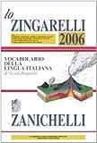 Image de Lo Zingarelli 2006. Vocabolario della lingua itali