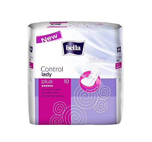 Bella Control Einlagen Plus, 2er Pack (2 x 10 Stück)/ für mittlere Blasenschwäche