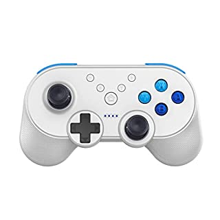 ASOSMOS Mini Wireless Controller Joysticks Bluetooth Pro Gaming Gamepad für Nintendo Switch