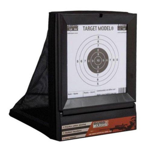 GS PEKL Softair Shooting Target Zubehör Zielscheibe mit Kugelfang für Softair-Pistole
