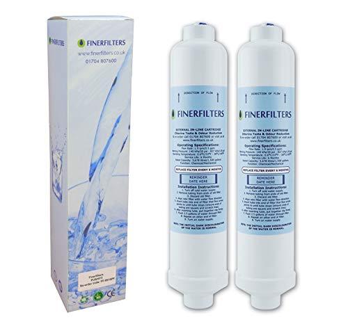 Finerfilters - 2 filtros agua frigoríficos LG, puede