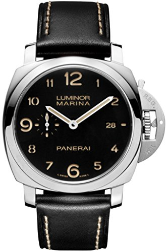 PANERAI LUMINOR 1950 HERREN-ARMBANDUHR 44MM ARMBAND LEDER AUTOMATIK PAM00359