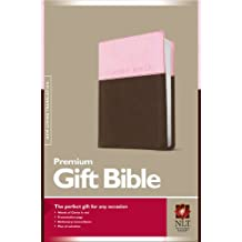 NLT Premium Gift Bible Leatherlike Pink/Brown (Gift and Award Bible: Nltse)