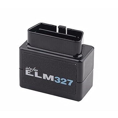 HaoYiShang dernière version V2.1 Super Mini ELM327 Bluetooth OBD/OBD2 Travaille sur Android Torque/PC