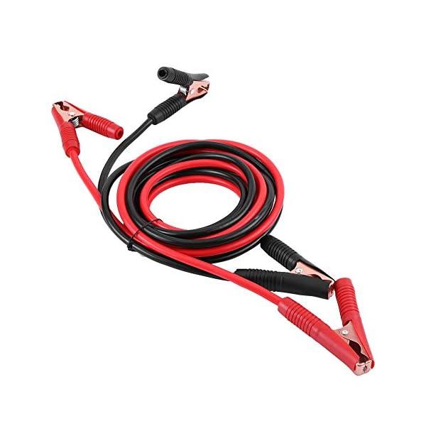 Cables de Puente de batería de Emergencia del automóvil, 2200Amp 4 metres Cables de Arranque para Batería de Coche, Pinzas de Arranque, Cable Batería Arrancar