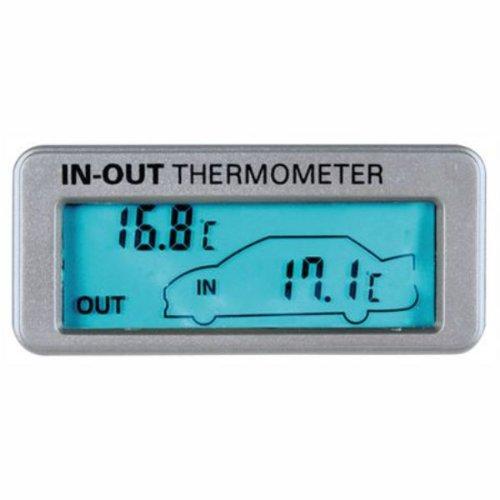 Lampa 86316 Innen-/Außenthermometer für 12/24V, blau beleuchtet