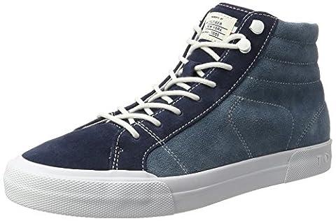 Chaussures Hilfiger Denim - Tommy Hilfiger Y2285ARMOUTH 3B, Sneaker Col Roulé