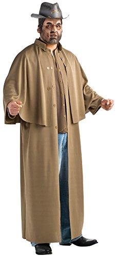Halloween Jonah Kostüme Hex (Jonah Hex Deluxe Herrenkostüm Kostüm für Herren Hut Antiheld Western Gr STD - XL,)