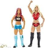 WWE SUPERSTARS sasha banks & CHARLOTTE figurine articulée (2 Pack)