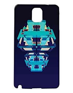 Pickpattern Back Cover for Galaxy Note 3 N9000