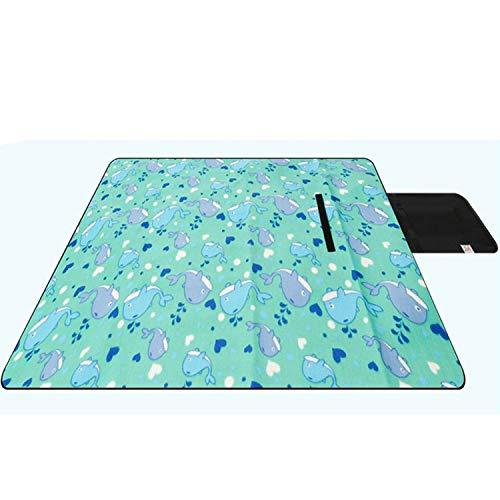 Cheastnupe Faltbare Outdoor Camping Schlafmatte Wasserdicht Tragbare Bett Picknickmatte Plaid Decke Tourist Matte