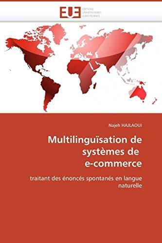 Multilinguïsation de systèmes de e-commerce par Najeh HAJLAOUI