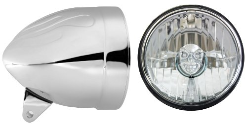 adjure-hb54010-sr-5-3-4-flamed-chrome-ventura-highway-design-motorcycle-headlight-bucket-combo-with-