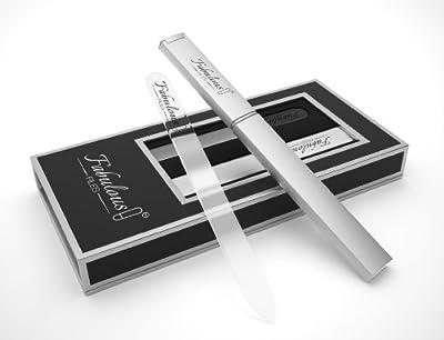 Crystal Nail File - Crystal Glass Nail File - Crystal Nail File With Case - Glass Nail File -This Crystal Nail File Set Comes In A Crystal Nail File Case - Glass Nail File With Case. Buy Now.