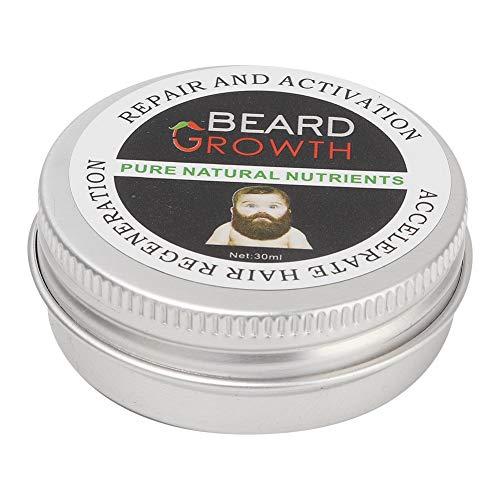 Simlug Bartbalsam für Männer Hochwertiges Bartpflege-Pflegewachs Feuchtigkeitsspendend Pflegend mit Duft 30ml - Heilende Feuchtigkeitsspendende Balsam