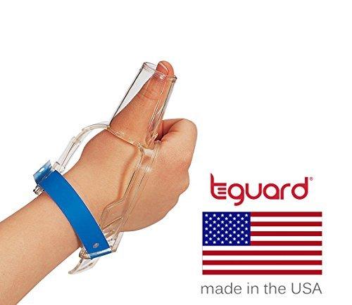 Kit trattamento per smettere di Succhiarsi il pollice per marca TGuard ThumbGuard (Medium)