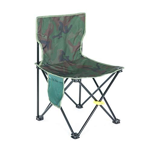 Folding chair Tabouret - Chaise Pliante, Chaise de Pêche Extérieure en métal, Chaise de Plage Moderne Minimaliste/Chaise de Croquis Portable (Couleur : C, Taille : 38 * 38 * 64cm)