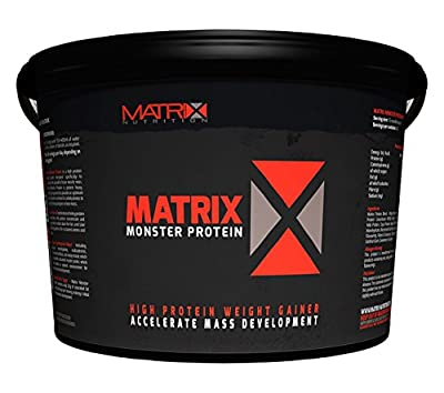 Matrix Nutrition Monster Protein 4KG - Weight Gain - Mass Gainer - Whey Protein Blend - High Calories from Matrix Nutrition