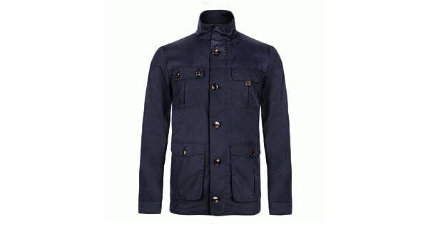 ae25c381891ed Ted Baker Navy Aragorn Overshirt Jacket Small (TED size 2)  Amazon.co.uk   Clothing