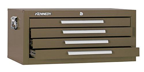 Kennedy Verarbeitung mc22b Schlosserhammer Schränkchen mit 2Schubladen Boden mit Reibung Folien, 53,3cm braun Falten, - Schublade Rubbermaid Organizer