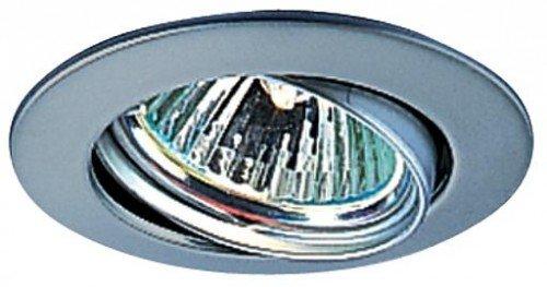 EVN Lichttechnik NV EB-Leuchte 515 014 chr/mt 50W 12V IP20 Downlight/Strahler/Flutlicht 4037293515146