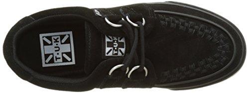 Anello D Bassi Nero Sneaker Vlk camoscio In Mixte Noir Adulte Camoscio Rampicante Cestini Tuk Nero 1qSEwHS