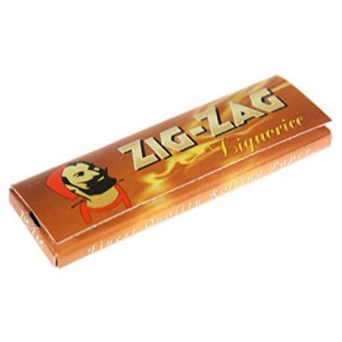 Zig Zag cartine corte per sigarette di liquirizia - 10 libretti