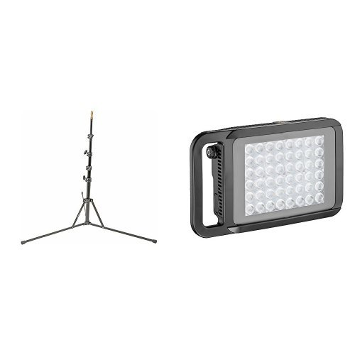Buy Manfrotto Nano Stand with LYKOS LED Light Review